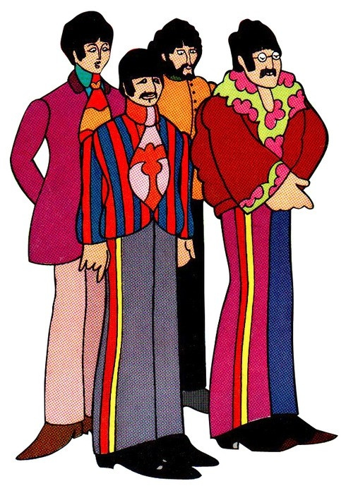 The Beatles were made up of 4 separate personalities which people could relate diffently